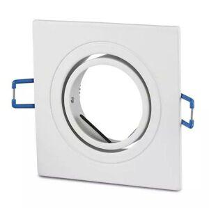 LED Solution Biely podhľadový rámček hranatý výklopný 3605