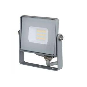 LED Solution Šedý LED reflektor 10W Premium Farba svetla: Denná biela