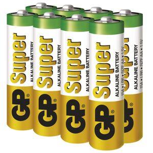 Alkalická batéria GP Super AA (LR6), 6+2ks B13218