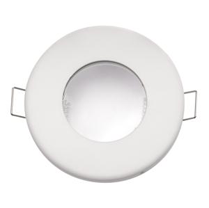 Podhľadový rámček do kúpeľne biely IP44 104341