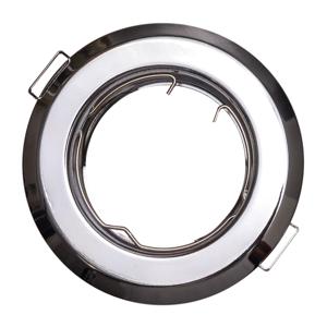 T-LED Podhľadový rámček chróm guľatý 10415