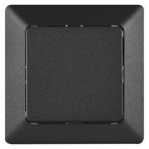 EMOS Prepínač striedavý č. 1,6 antracit A6100.5