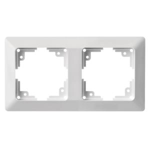 EMOS Biely rámček dvojnásobný A6004.0