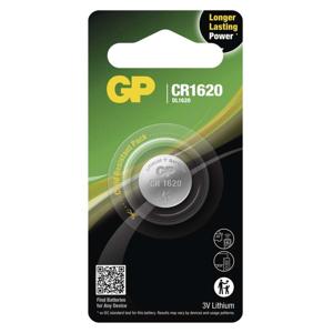 EMOS Lithiová gombíková batéria GP CR1620, 1 ks B15701