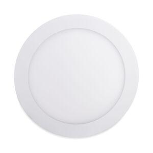 LED Solution Biely vstavaný LED panel guľatý 120mm 6W Premium Farba svetla: Teplá biela 706