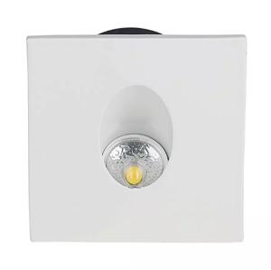 LED Solution LED vstavané svetlo ku schodisku 3W štvorec 1210