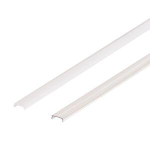 LED Solution Nacvakávacie difúzor pre profil Mikro Vyberte variantu a délku: Čirý kryt 1m 09103