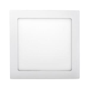 T-LED Biely vstavaný LED panel hranatý 171 x 171mm 12W stmievateľný Farba svetla: Denná biela