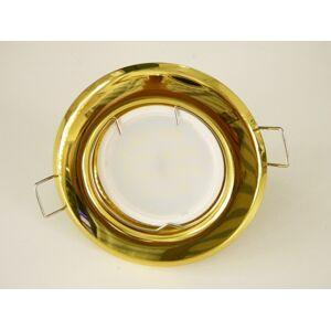 T-LED LED bodové svetlo do sadrokartónu 3W zlatá 12V Farba svetla: Denná biela