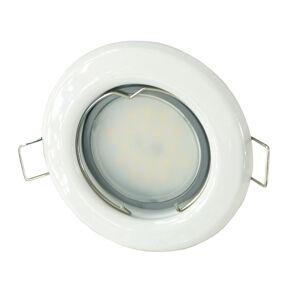 T-LED LED bodové svetlo do sadrokartónu 3W biele 12V Farba svetla: Teplá biela
