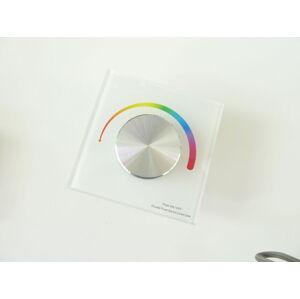 T-LED Nástenný Ovládač dimLED RGB Farba:: biela 069212