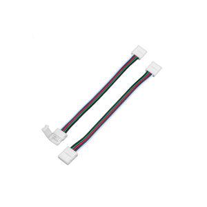 T-LED Spojka pre RGBW pásik s kablom click 112123