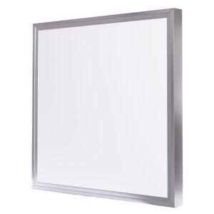 LED Solution Strieborný prisadený LED panel s rámčekom 600 x 600mm 40W Premium Farba svetla: Studená biela 189019_191021