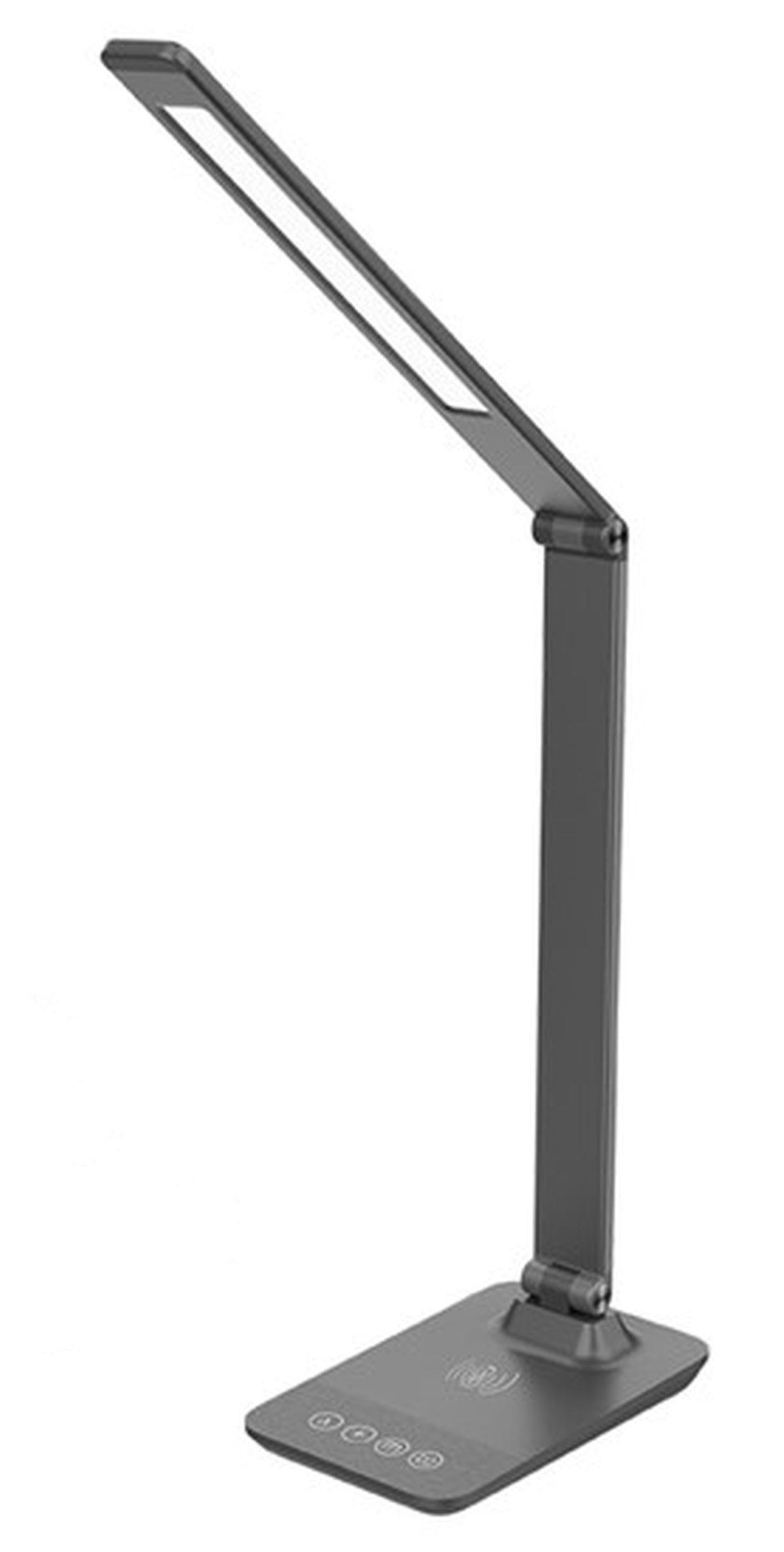 Solight LED STOLNÁ LAMPA 10W S BEZDRÔTOVÝM NABÍJANÍM WO55-G
