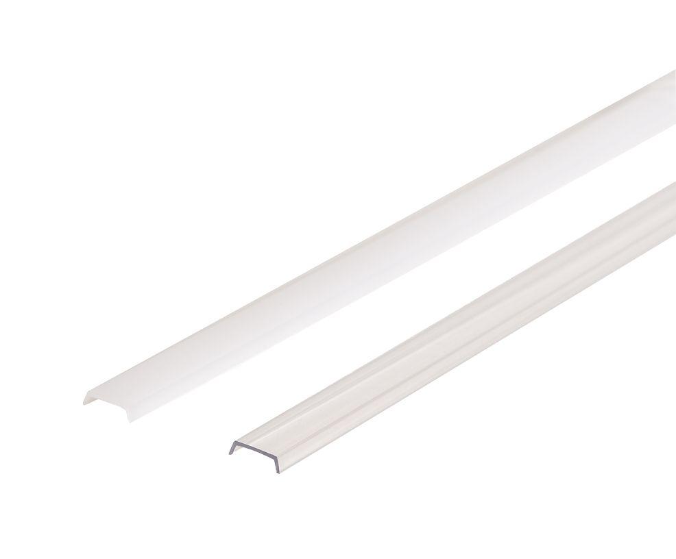 LED Solution Nasúvací difúzor pre profil V2 Vyberte variantu a délku: Opálový kryt 1m 09109