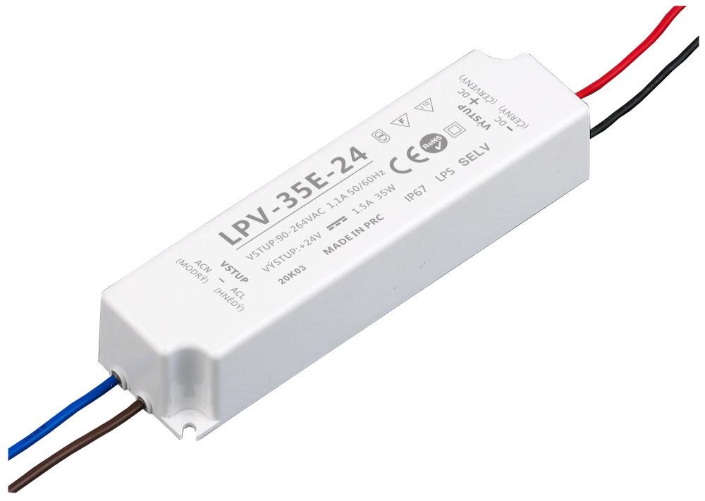 T-LED LED zdroj (trafo) 24V 35W IP67