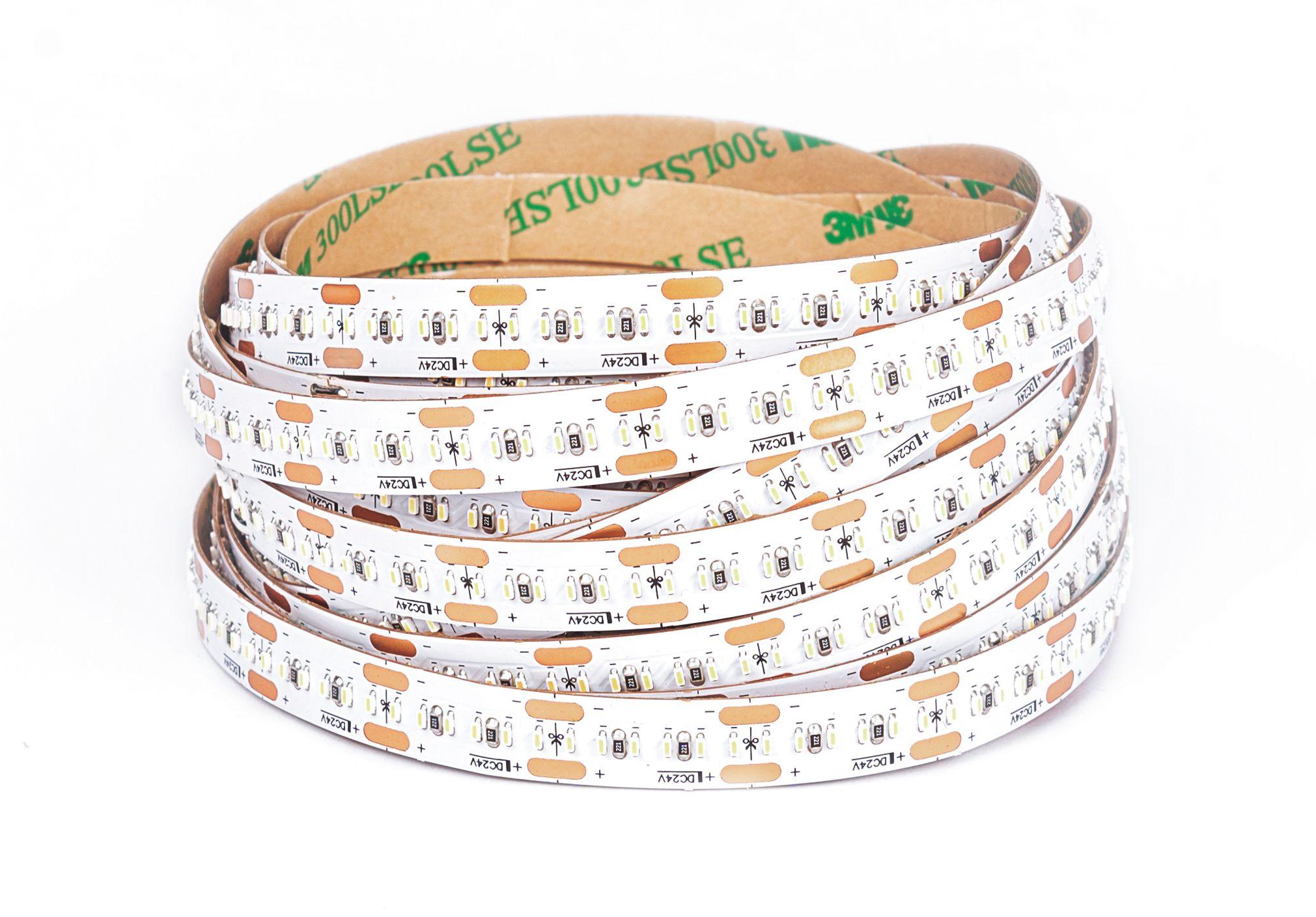 LED Solution CRI LED pásik 20W/m 24V bez krytia IP20 300LED/m Farba svetla: Denná biela