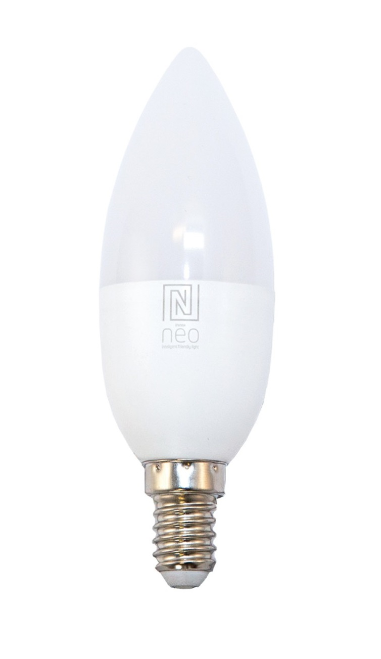 Immax SMART LED žiarovka RGBW 5W E14