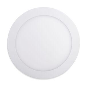 LED Solution Biely vstavaný LED panel guľatý 225mm 18W - VZORKA Farba svetla: Denná biela